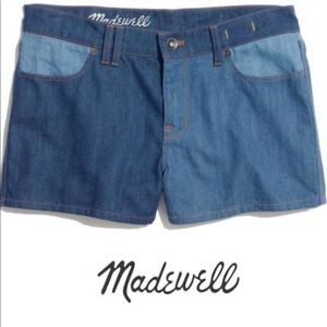 Madewell High Rise Jean Shorts Size 30 NWT